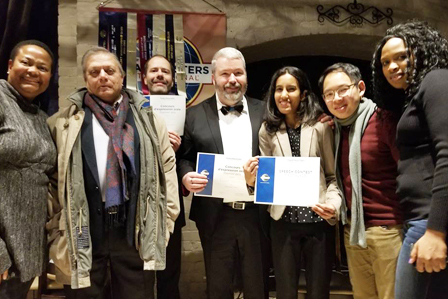 CN Collaborators Toastmasters winners of the area contest 2019